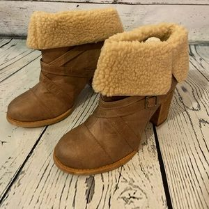 New Chinese Big Deal Booties (Camel)